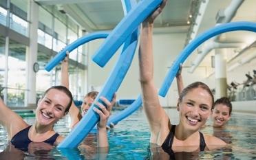 Aqua-Fitness im Mehrzweckbecken